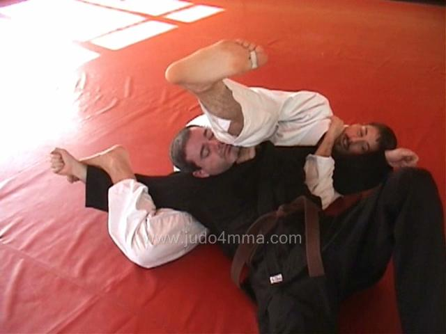 Click for a video showing a traditional Judo technique called Jigoku Jime - Hell's Strangle